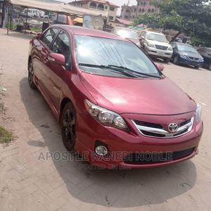 Toyota Corolla 2012 Red | Cars for sale in Delta State, Ndokwa West