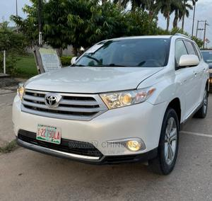 Toyota Highlander 2012 Limited White   Cars for sale in Lagos State, Ikeja