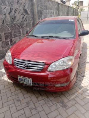 Toyota Corolla 2003 Red | Cars for sale in Kaduna State, Kaduna / Kaduna State