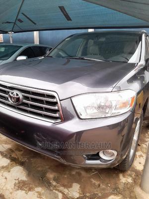 Toyota Highlander 2008 Limited Blue   Cars for sale in Lagos State, Alimosho