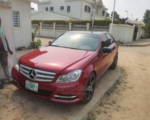 Mercedes-Benz C300 2008 Red   Cars for sale in Lagos State, Ikeja