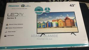 Hisense 43 LED Tv | TV & DVD Equipment for sale in Lagos State, Surulere
