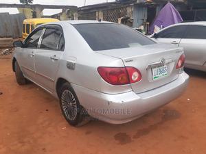 Toyota Corolla 2003 Sedan Automatic Silver   Cars for sale in Lagos State, Abule Egba