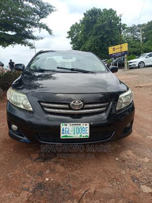 Toyota Corolla 2008 Black   Cars for sale in Abuja (FCT) State, Gwarinpa