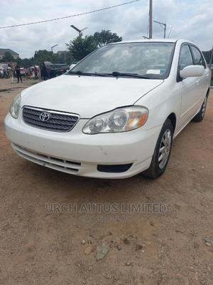 Toyota Corolla 2003 Sedan Automatic White   Cars for sale in Abuja (FCT) State, Wuse 2