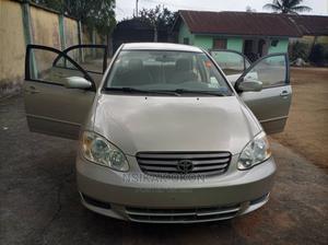 Toyota Corolla 2003 Sedan Automatic Gold   Cars for sale in Akwa Ibom State, Uyo