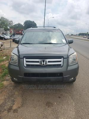Honda Pilot 2007 EX 4x2 (3.5L 6cyl 5A) Gray | Cars for sale in Abuja (FCT) State, Central Business District