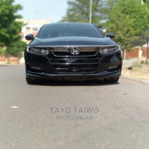 Honda Accord 2019 Black   Cars for sale in Abuja (FCT) State, Garki 1