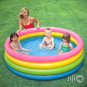 INTEX Inflatable Swimming Pool (3 Person)   Sports Equipment for sale in Lagos State, Ikeja