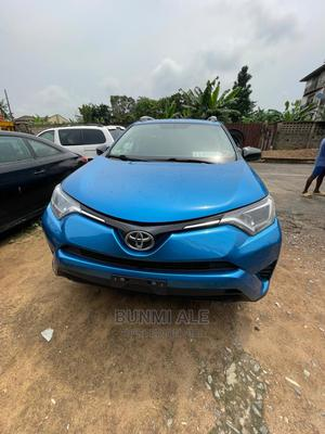 Toyota RAV4 2016 LE FWD (2.5L 4cyl 6A) Blue   Cars for sale in Lagos State, Ikeja