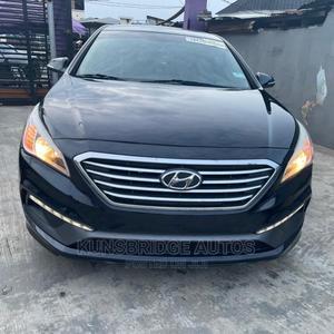 Hyundai Sonata 2015 Black   Cars for sale in Lagos State, Ikeja