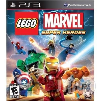 New Lego Marvel Super Heroes Ps3