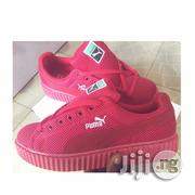 Puma Fenty Creeper Netter Red Unisex Sneakers | Shoes for sale in Lagos State, Lagos Island