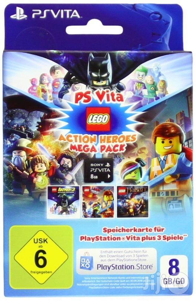 Brand New Ps-Vita Lego Action Heroes- 8GB