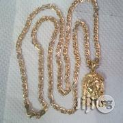Pure ITALY 750 Tested 18krt Vasae Sisscors Wit Jesus Piece | Jewelry for sale in Lagos State, Lagos Island