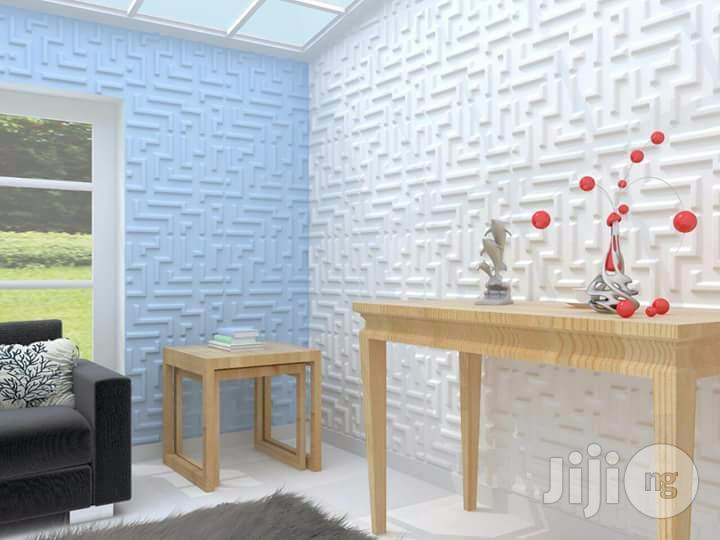Archive: Wallpaper With 3D Wall Panel Sheets For Sales