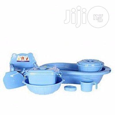 7 Pcs Baby Bathing Set