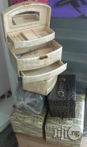 Big Size Leather Jewellery Box | Jewelry for sale in Lagos State