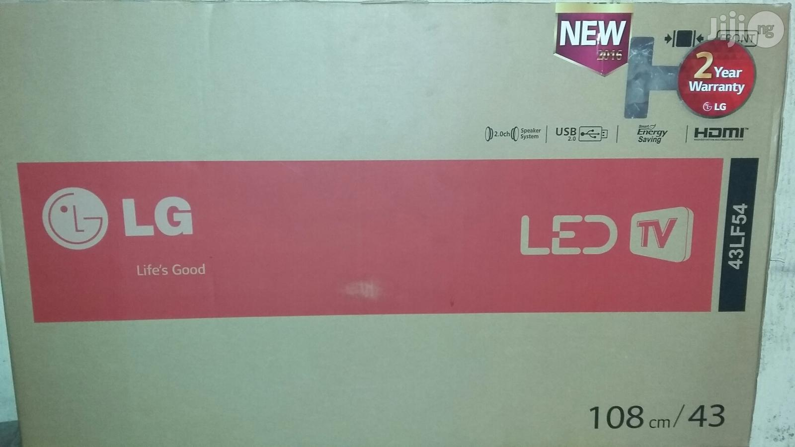 Brand New LG Led Tv 43 Inches With 2years Warranty And Safe Dilivery