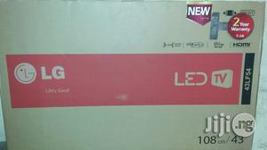 Brand New LG Led Tv 43 Inches With 2years Warranty And Safe Dilivery | TV & DVD Equipment for sale in Lagos State, Ojo