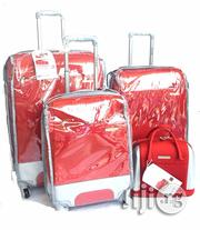 Hello Honey 4pcs Trolley Luggage Red   Bags for sale in Lagos State, Ikeja