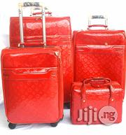 Louis Vuitton 4set Trolley Luggage Red   Bags for sale in Lagos State, Ikeja