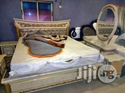 6*6 Italian Bed With Standing Mirror | Furniture for sale in Lagos State, Lekki Phase 2