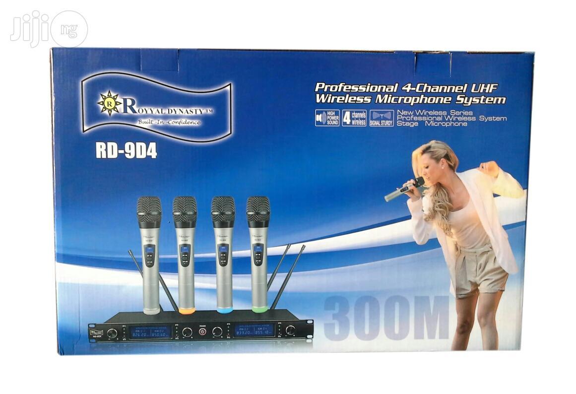 Digital Four Wireless Mic | Audio & Music Equipment for sale in Surulere, Lagos State, Nigeria