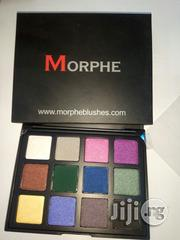 Morphe 12colours Pigmented Eyeshadow | Makeup for sale in Lagos State, Amuwo-Odofin