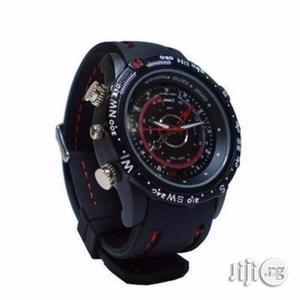 Spy Waterproof Wristwatch-8gb | Security & Surveillance for sale in Lagos State, Ikeja