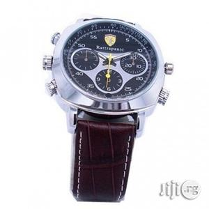 Spy Leather Wristwatch - 8GB   Security & Surveillance for sale in Lagos State, Ikeja