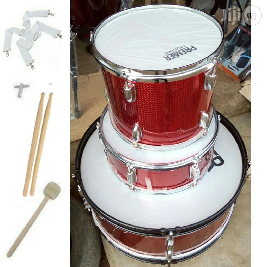 Premier Professional School Drum With Accessories -3 Set