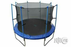 Bouncing Trampoline With Net   Sports Equipment for sale in Lagos State, Surulere