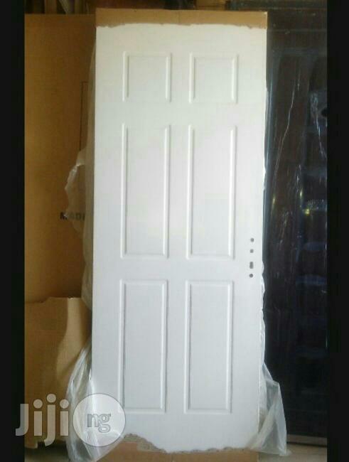 American Panel Door White