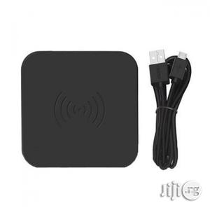 Universal Qi Wireless Charging Pad - Black | Accessories for Mobile Phones & Tablets for sale in Lagos State, Ikeja