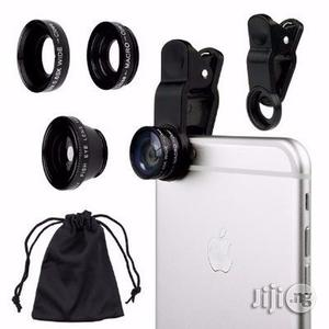 Universal Cell Phone Camera Lens Kit - Black   Accessories for Mobile Phones & Tablets for sale in Lagos State, Ikeja