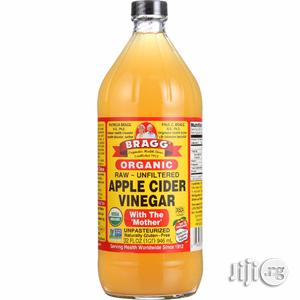 Bragg Organic Raw Apple Cider Vinegar, 32 Ounce | Vitamins & Supplements for sale in Lagos State, Surulere
