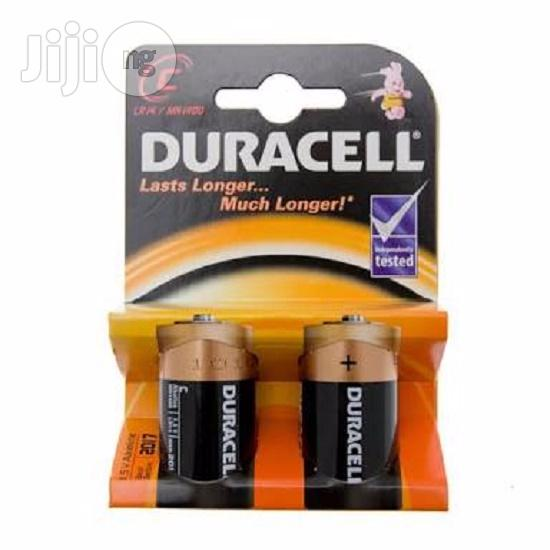 Size C Duracell Battery