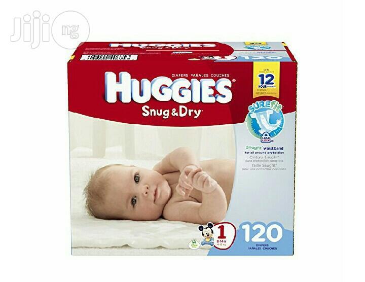 Huggies Snug N Dry Size 1 (120ctn)