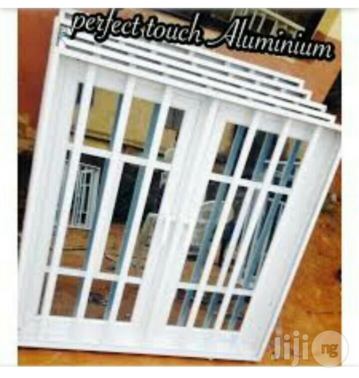 Aluminium Casement Window With Bugleary.