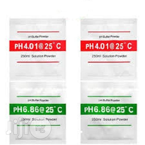 PH Meter Buffer Powder Calibration Solution ( 20pcs Per Lot ) | Vitamins & Supplements for sale in Ibadan, Oyo State, Nigeria