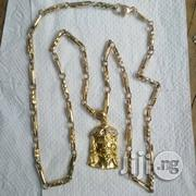 Pure ITALY 750 Tested 18krt Gold America Nut Wit Jesus Piece | Jewelry for sale in Lagos State, Lagos Island