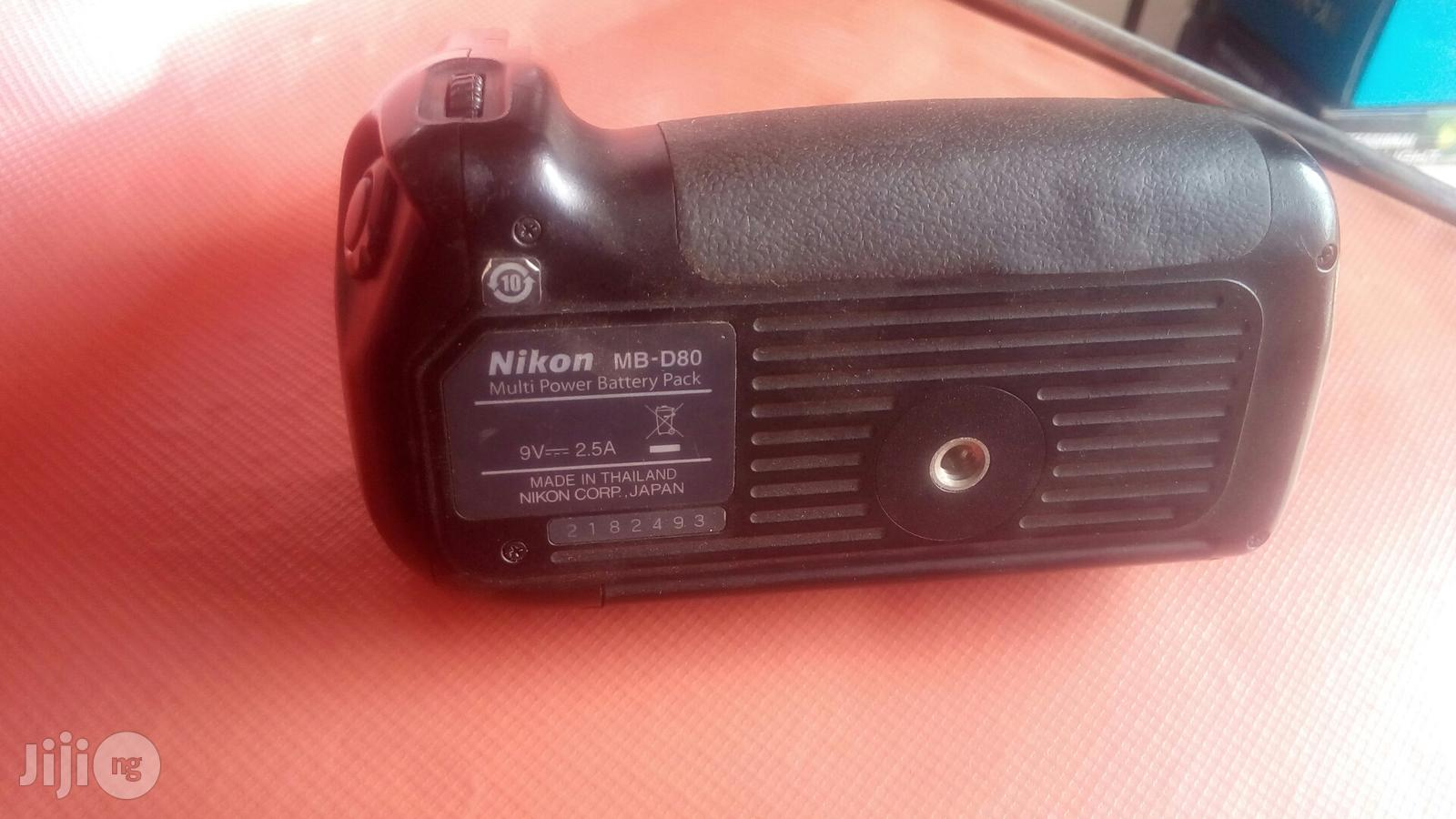 Nikon D80 Battery Greap | Photo & Video Cameras for sale in Ikeja, Lagos State, Nigeria