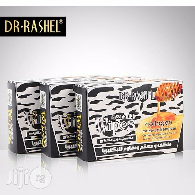 Dr. Rashel Milk & Honey & Collagen Cleansing Wipes Make-up Remover