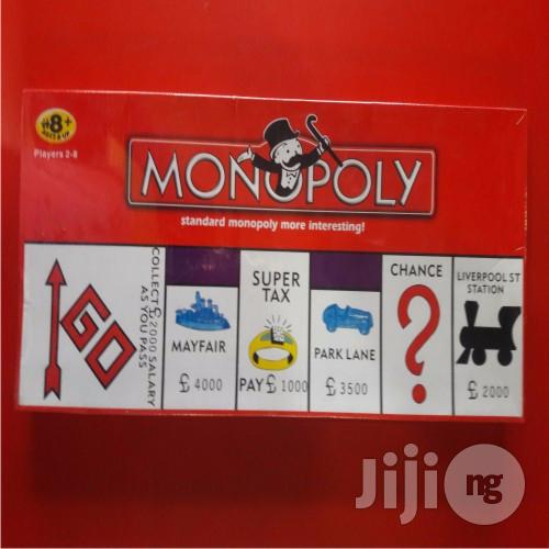 Monopoly Board Game - Children Education Game