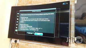 Samsung UE55HU7200 55 Inches Smart Curved   TV & DVD Equipment for sale in Lagos State, Ojo