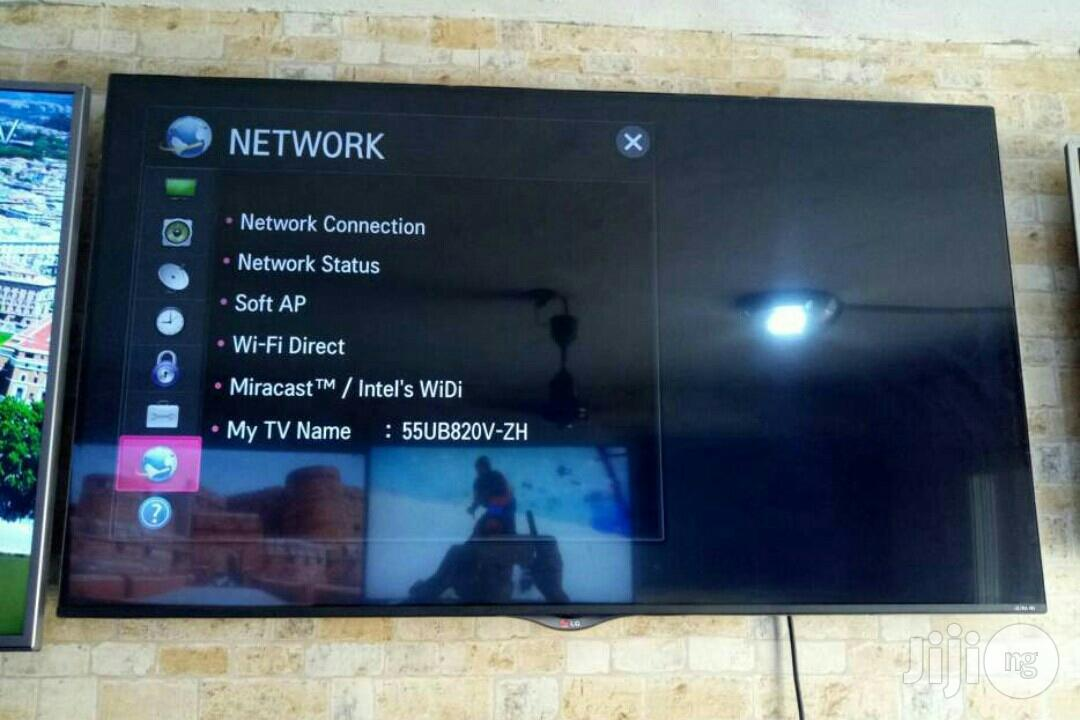 LG Smart Led TV 55 Inches | TV & DVD Equipment for sale in Ojo, Lagos State, Nigeria