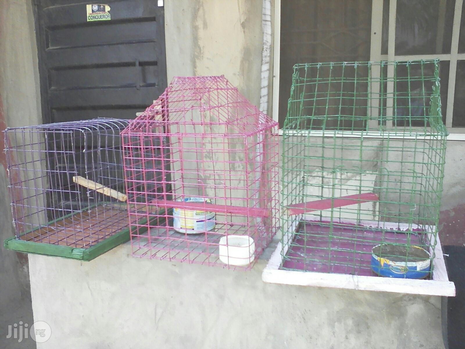 Cages For Rabbits, Birds, Mouse Etc For Sale