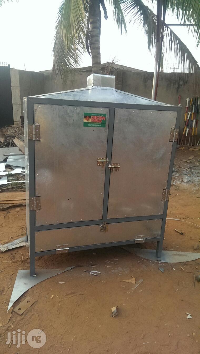 Fish Smoking Kiln, Bread And Snacks Oven