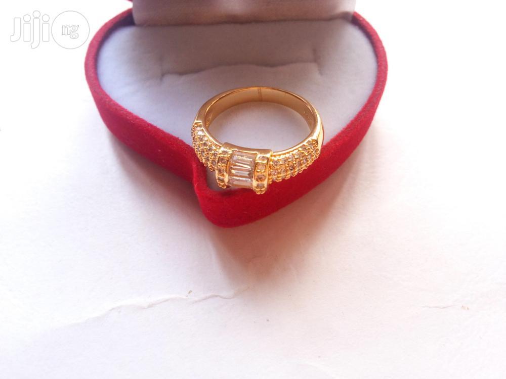 Leyla Williams Gold Stunning Engagement Ring 0002